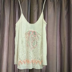 Free people sheer camisole top